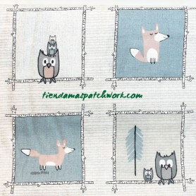 Tela-patchwork-woodie-winterland-animales-bloques-4