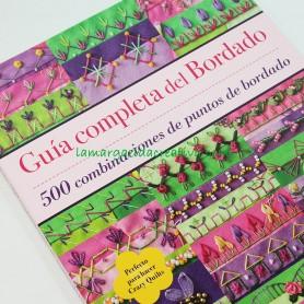 Libro guía completa de bordado en lamargaridacreativa 9