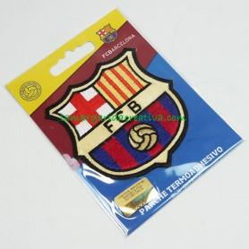 Escudo oficial f. c. Barcelona Parche bordado termoadhesivo Grande 1