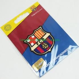 Escudo oficial f. c. Barcelona Parche bordado termoadhesivo Mediano 1