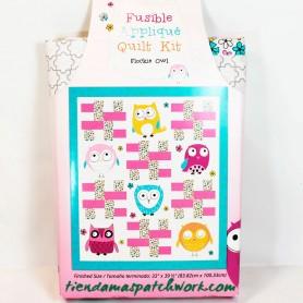 Kit edredón Patchwork Buhos Flockie Owl