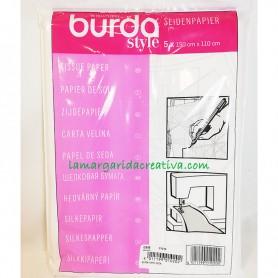 Papel patrones papel de seda BURDA en merceria lamargaridacreativa 3