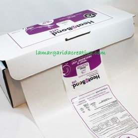 Papel aplicaciones patchwork heat and bond adhesivo en lamargaridacreativa