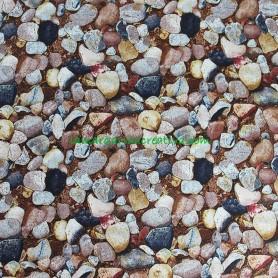 Tela patchwork paisajes piedras Danscapes en lamargaridacreativa 2
