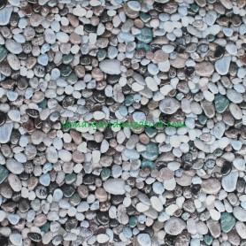 Tela patchwork naturaleza piedras Landscape Medley Blue en lamargaridacreativa 2