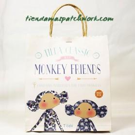 Kit patchwork Tilda Monkey friends