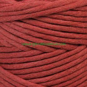 Hilo cordón cuerda macramé teja fibras recicladas en lamargaridacreativa