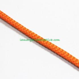 Cordón Naranja Butano acrílico 7mm 2