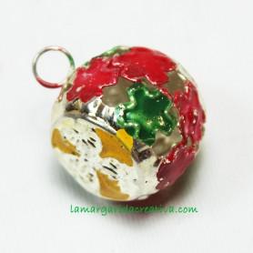 Cascabel metálico multicolor 21mm II