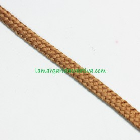 Cordón Marrón claro acrílico 7mm