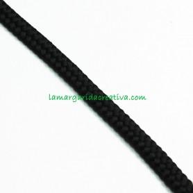 Cordón Negro acrílico 7mm