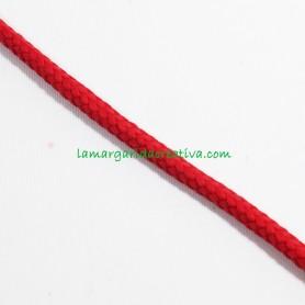 Cordón Rojo acrílico 7mm