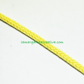 Cordón Amarillo acrílico 4mm