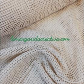 tela malla rejilla algodón orgánico bolsas fruta la margarida creativa