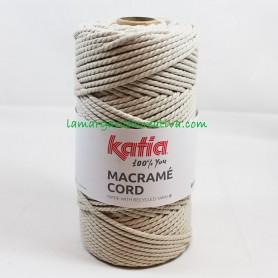 Macramé Cord Katia Beige 4mm 114 lamargaridacreativa