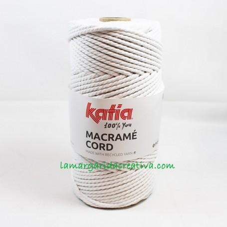 Macramé Cord Katia Blanco 4mm