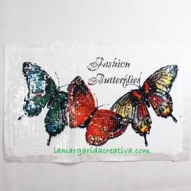 Aplicación Mariposas Lentejuelas lamargaridacretaiva 1