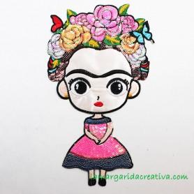 Parche Aplicación termoadhesiva Frida Kahlo lamargaridacreativa
