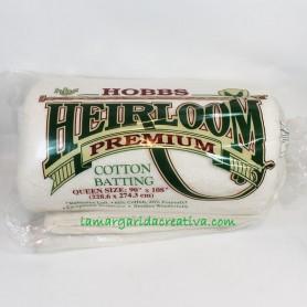 Guata Algodón Hobbs Heirloom Premium 274x230 acolchado cama matrimonio lamargaridacreativa 1
