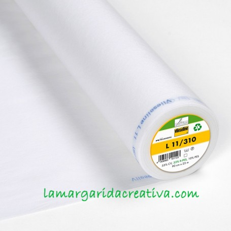 Entretela Vlieseline L11/310 fina fliselina patchwork y costura lamargaridacreativa