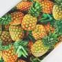 Tela Algodón Piñas Patchwork y costura estampado frutas cocina lamargaridacreativa 3
