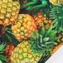 Tela Algodón Piñas Patchwork y costura estampado frutas cocina lamargaridacreativa 4