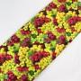 Tela Algodón Uvas Patchwork y costura estampado frutas cocina lamargaridacreativa 2