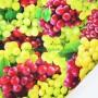 Tela Algodón Uvas Patchwork y costura estampado frutas cocina lamargaridacreativa 4
