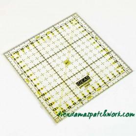 Regla patchwork Cuadrada 15x15 centímetros 1