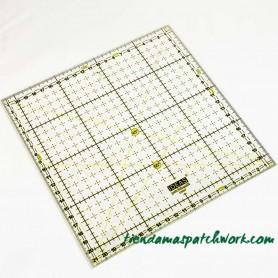 Regla patchwork Cuadrada 21,5x21,5 centímetros 1