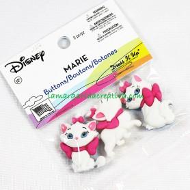 Botones decorativos Disney Marie 1 en tienda mercería la margarida creativa 2