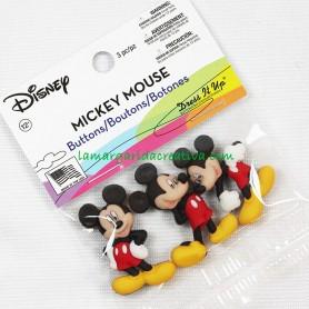 Botones decorativos Disney Mickey Mouse 2