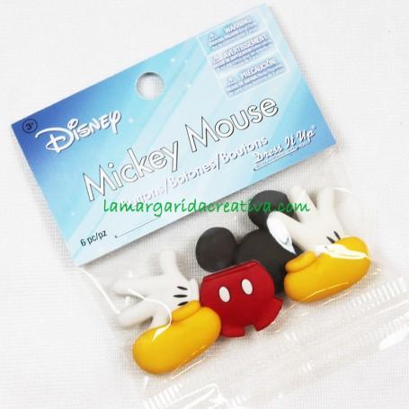 Botones decorativos Disney Mickey Mouse Complementos en tienda online merceria la margarida creativa 2