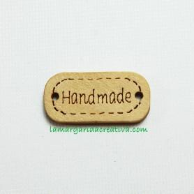 Placa Madera Handmade para labores, manualiadades y creaciones de costura la margarida creativa 1