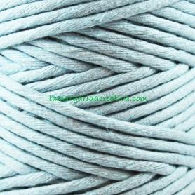 Macramé Azul Hilo cordón cuerda fibras recicladas 4mm en lamargaridacreativa
