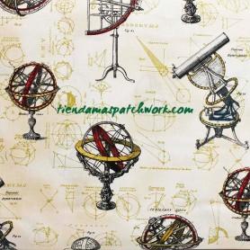 Tela patchwork Galileo Antique 3