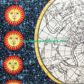 Tela patchwork Galileo Mapa Mundi 3