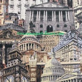 Tela patchwork the New Renaissance Man City 3