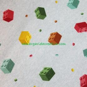 Chandal Fixie Piezas Lego en tienda merceria y telas la margarida creativa 4