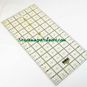 Regla patchwork recta 6x12 pulgadas
