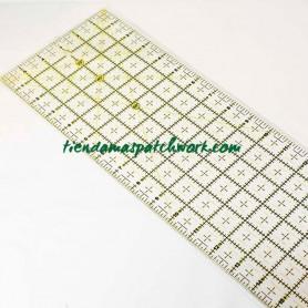 Regla patchwork recta 6x24 pulgadas