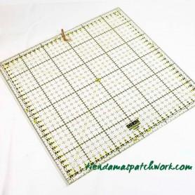 Regla patchwork Cuadrada 30x30 centímetros