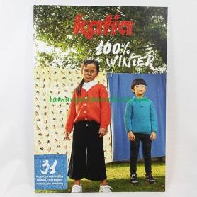 Revista Katia Niños 100% Winter nº99 en tienda lanas telas y merceria barcelona la margarida creativa 1