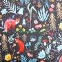 Soft Shell Animales bosque Dark Forest en tienda telas y merceria online lamargaridacreativa 1