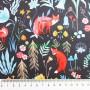 Soft Shell Animales bosque Dark Forest en tienda telas y merceria online lamargaridacreativa 2