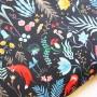 Soft Shell Animales bosque Dark Forest en tienda telas y merceria online lamargaridacreativa 7