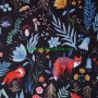 Soft Shell Animales bosque Dark Forest en tienda telas y merceria online lamargaridacreativa 8
