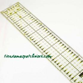 Regla patchwork Recta 8x40 centímetros
