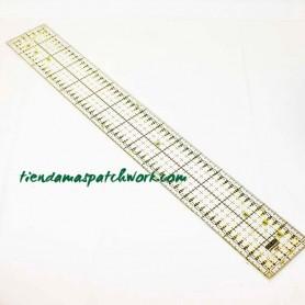 Regla patchwork Recta 10x45 centímetros